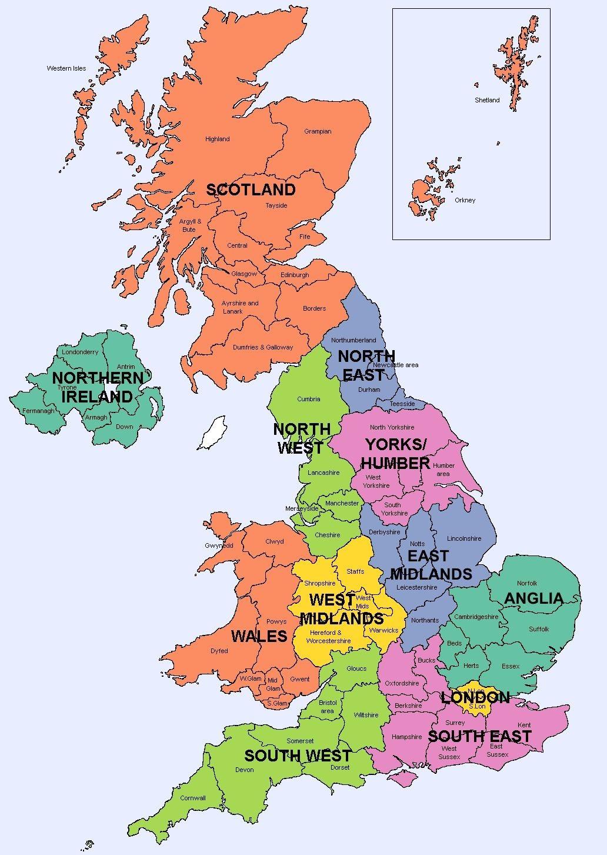 BACH Regional Map
